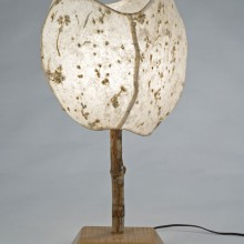 4 Panel Natural Blossom Table Lamp