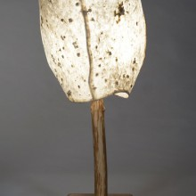 3 Panel Natural Blossom Table Lamp