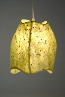 3 Panel Yellow Pendant Lamp
