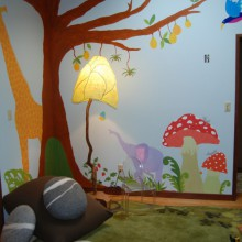 Enchanted play room